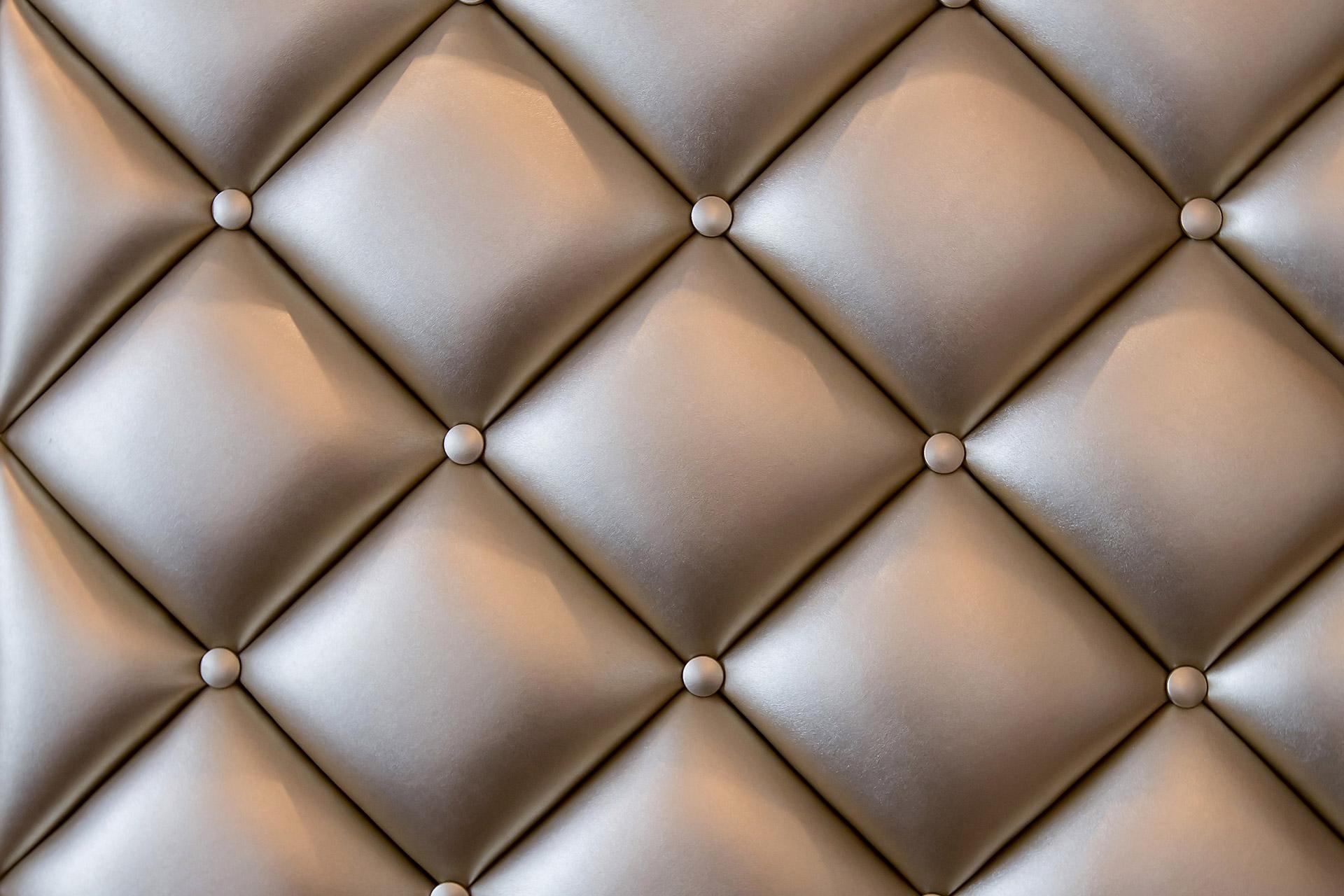 Close up of a felt cushion